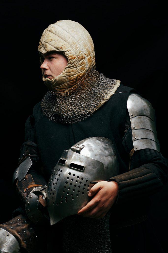 zdjęcie z lampą wojownika