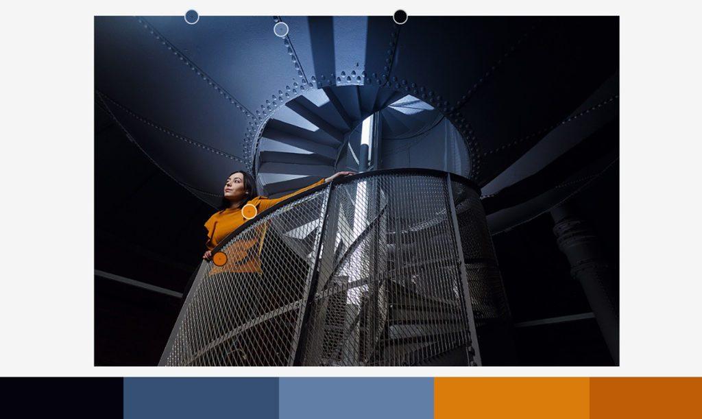kolor w fotografii pomarańczowy