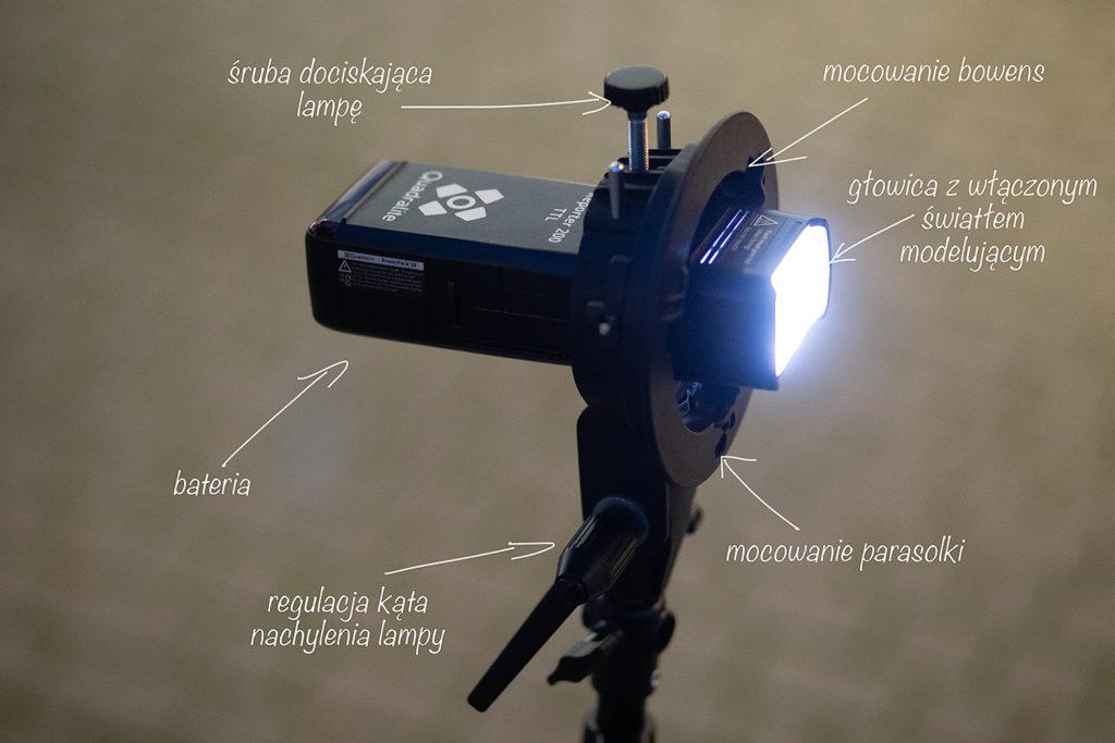 lampa błyskowa quadralite